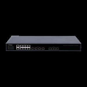 Com 4 portas SFP EPON e 8 portas Gigabit Ethernet – OLT 4840 E