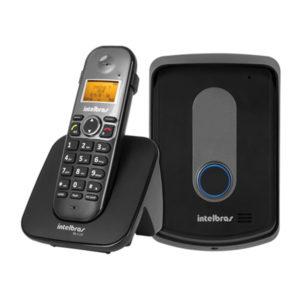 Telefone sem fio com ramal externo – TIS 5010