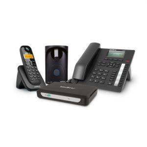 Sistema de comunicação telefônica para microempresa